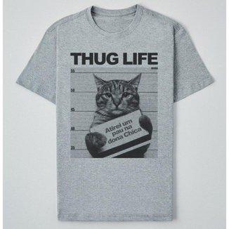 Camiseta Reserva Ink  Thug Life Masculina