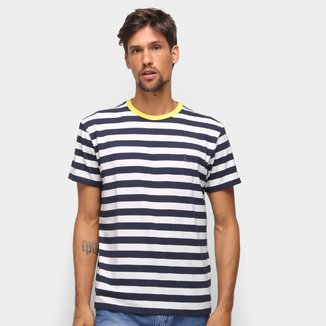 Camiseta Reserva Listrada Masculina