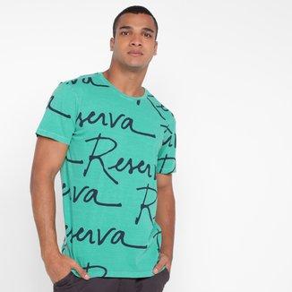 Camiseta Reserva Manuscrito Full Masculina