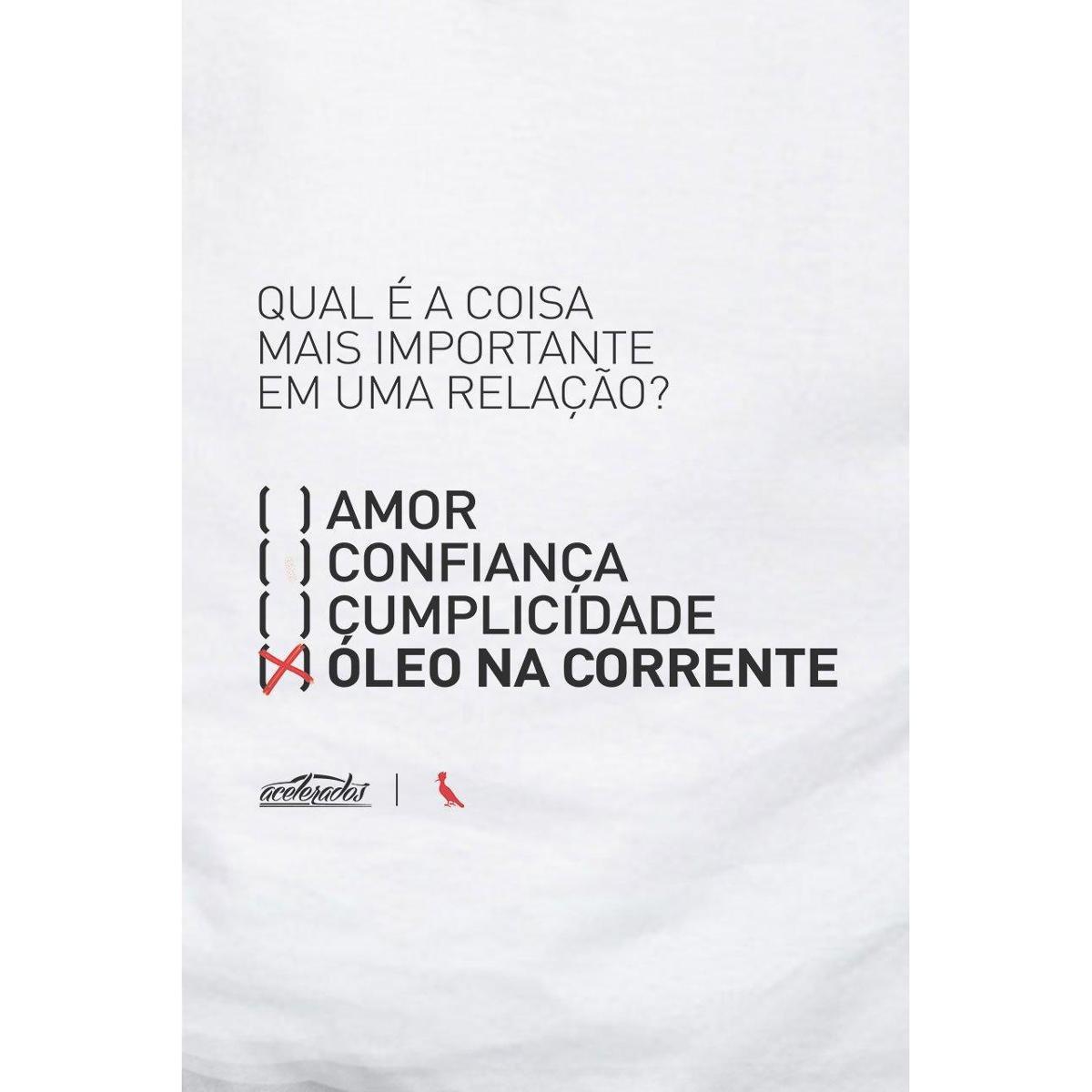 Camiseta Reserva Óleo Na Relação Masculina - Branco