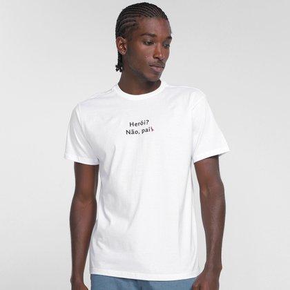 Camiseta Reserva Pai Heroi Masculino