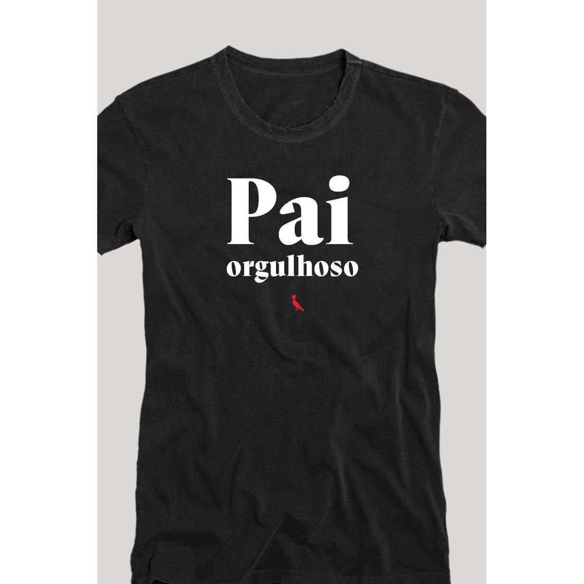 Camiseta Reserva Pai Orgulhoso Masculina - Preto