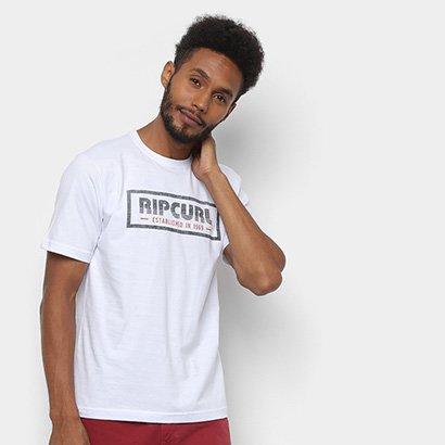 Camiseta Rip Curl Bells Masculina - Masculino - Branco - COD. D68 - 2248 - 014