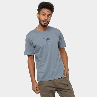 Camiseta Rip Curl Front Line Masculina - Masculino - Verde - COD. D68 - 2243 - 060