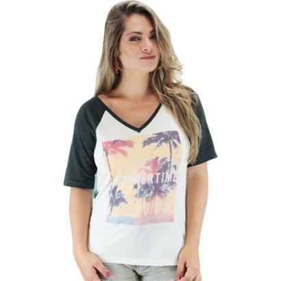 Camiseta Rip Curl Summer Time Feminina-Feminino