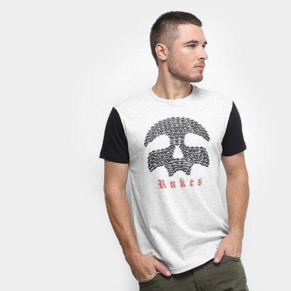 Camiseta Rukes Caveira Masculina