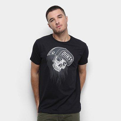 Camiseta Rukes Skull Cap Masculina