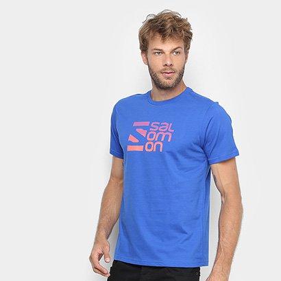 Camiseta Salomon Dots Ss Masculina