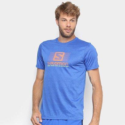 Camiseta Salomon Running Ss Masculina