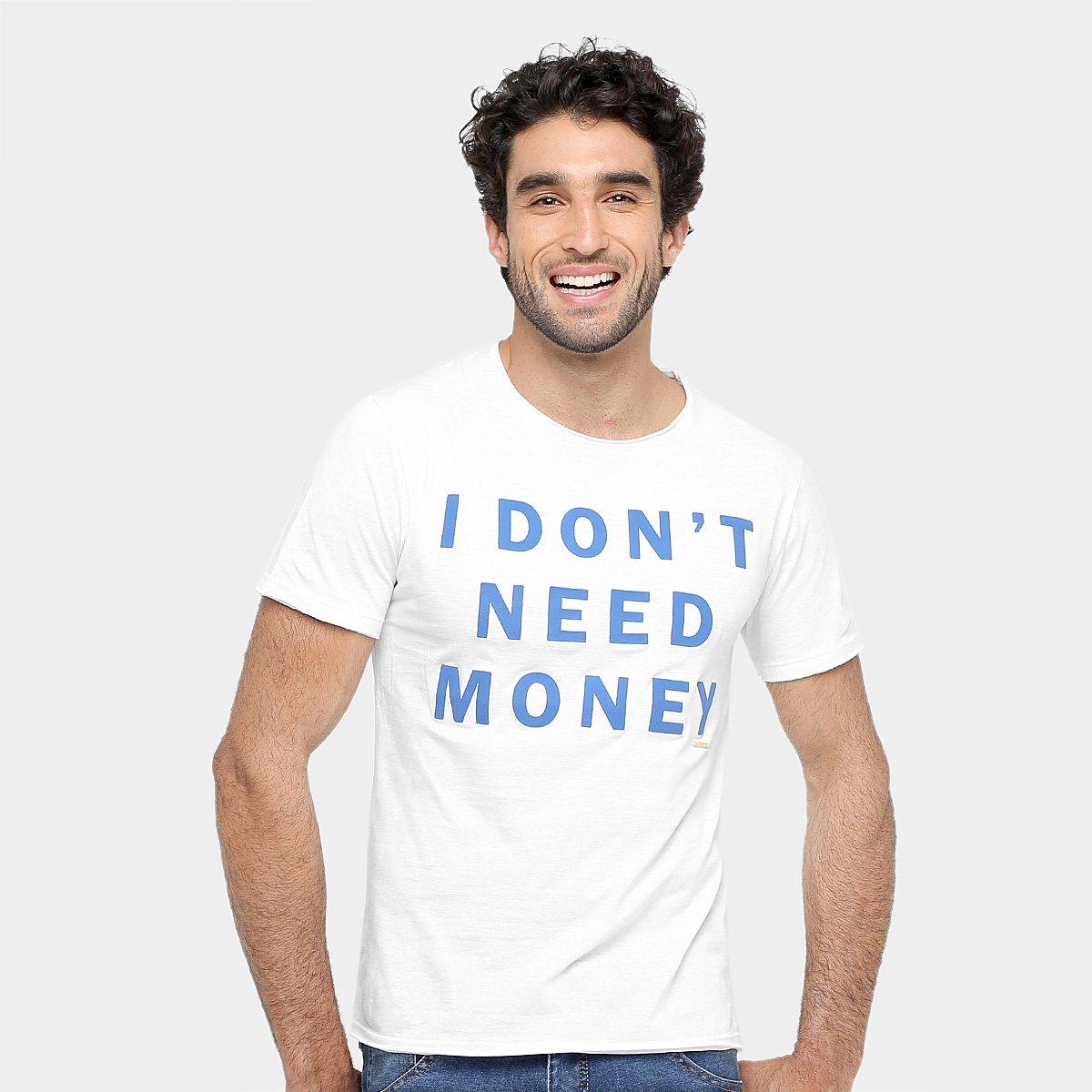 a8f9ac1ba Camiseta Sergio K Estampa Money Masculina - Compre Agora | Zattini