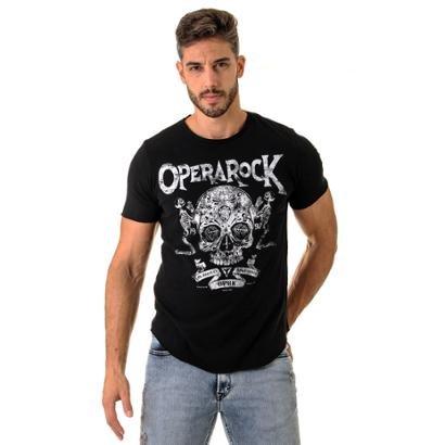 Camiseta Skull Blessed Oprk Masculina