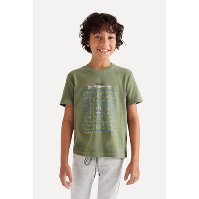Camiseta SM Silk Game Ready Reserva Mini Masculina Infantil