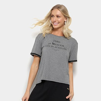 Camiseta Sommer Zero In Behavior Feminina