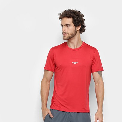 Camiseta Speedo Basic Stretch Masculina - Masculino
