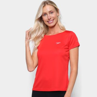 Camiseta Speedo Interlock Canoa Feminina