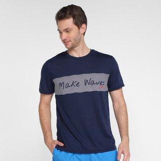 Camiseta Speedo Make Waves Masculina