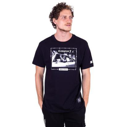 Camiseta Starter Estampada Compton West Coast Masculino