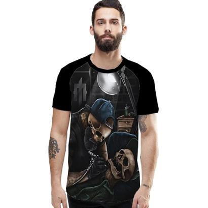 Camiseta Stompy Raglan Modelo 106 Masculina