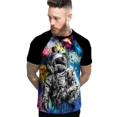 Camiseta Stompy Raglan Modelo 190 Masculina