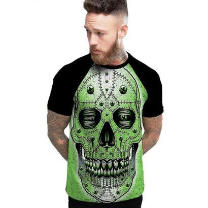 Camiseta Stompy Raglan Modelo 44 Masculina