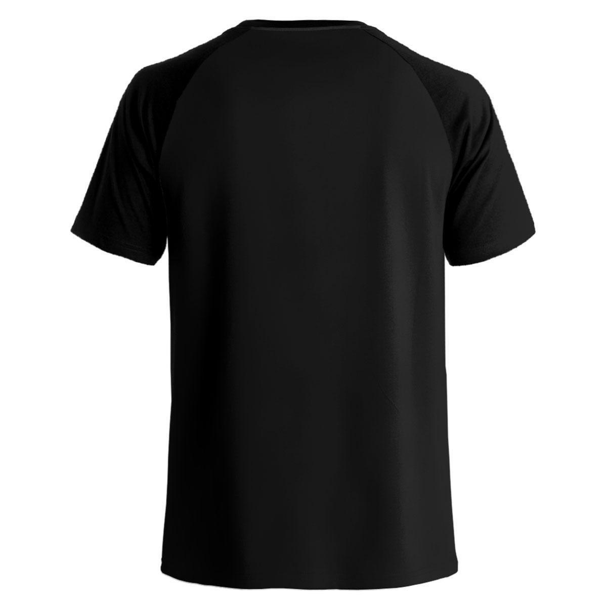 Camiseta Stompy Raglan Modelo 60 Masculina - Preto
