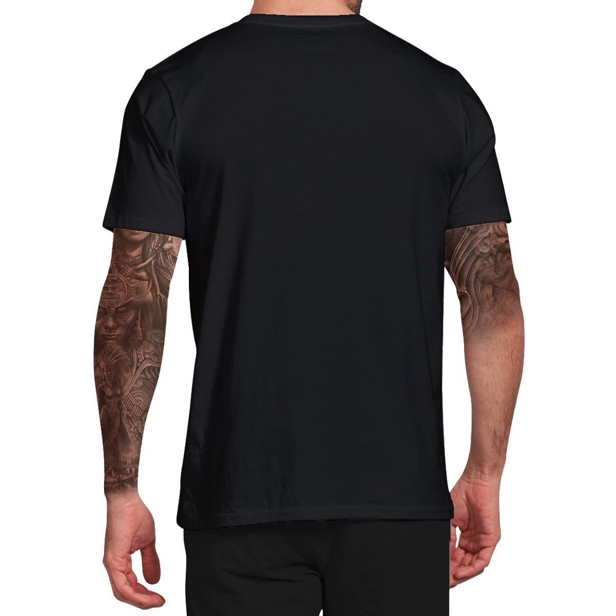 Camiseta Stompy Tattoo Collection Masculina - Preto