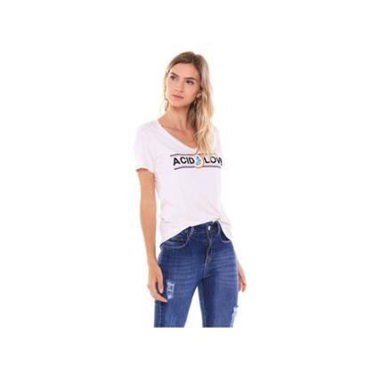 Camiseta Studio 21 Fashion Acid Love Feminina