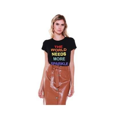 Camiseta Studio 21 Fashion Sparkle Feminina