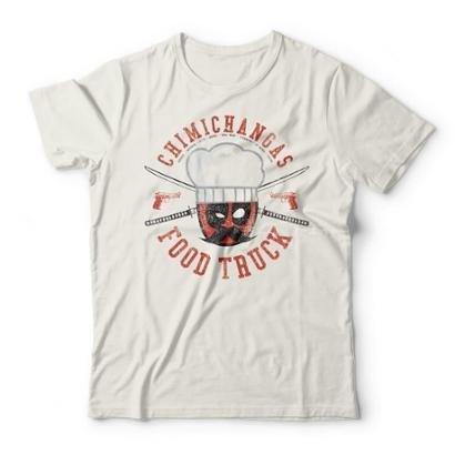 Camiseta Studio Geek Deadpool Chimichangas