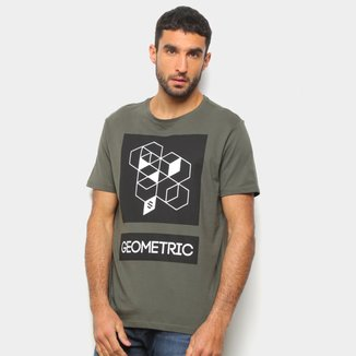 Camiseta Suburban Geometric Masculina