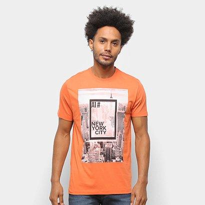 Camiseta Suburban New York Masculina