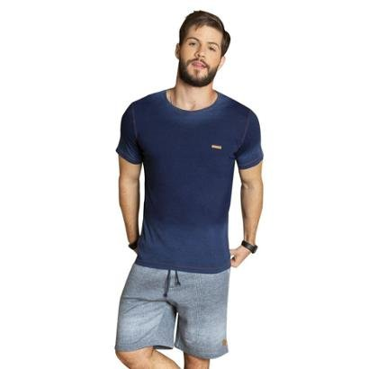 Camiseta Surf.com ÍndigoMasculina