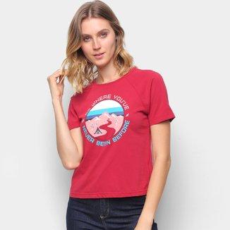 Camiseta T-Shirt Cantão Babylook Aventura Feminina