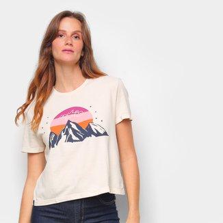Camiseta T-Shirt Cantão Babylook Hiking Feminina