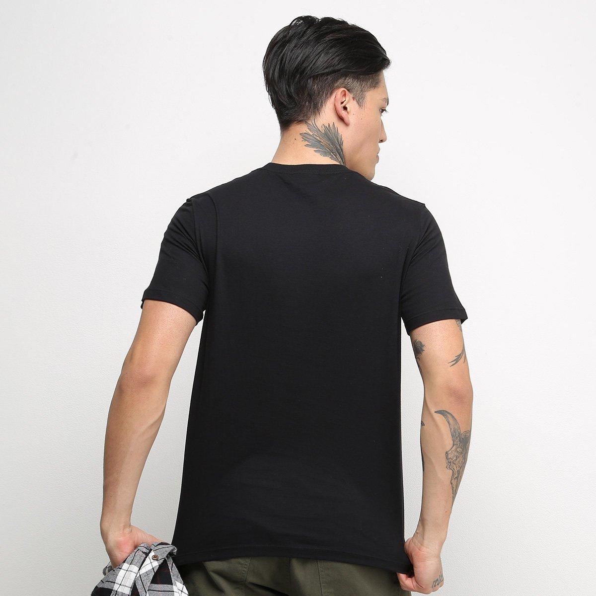 Camiseta T-Shirt Cavalera Masculina - Preto
