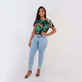 Camiseta T-shirt Estampada Fashion Colcci Oficial De Malha