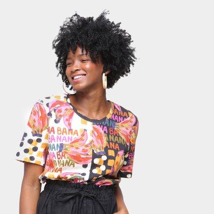 Camiseta T-Shirt Farm Mix Bananatic Feminina