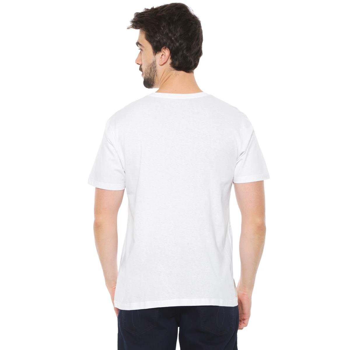 Camiseta Talismã Store Eco Canyon No Signal Masculina - Branco