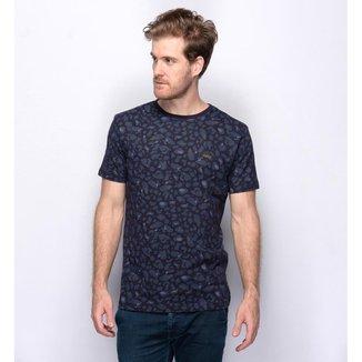 Camiseta Teodoro Animal Print Discreta Moderna Masculina