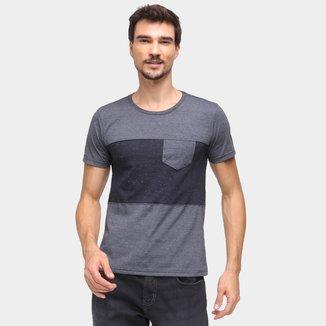Camiseta Three Hands Bicolor Masculina