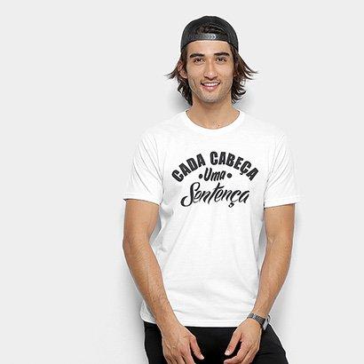Camiseta Toiss Cada Cabeça Uma Sentença