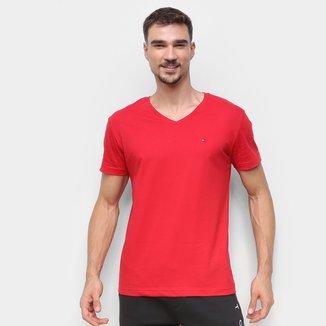 Camiseta Tommy Hilfiger Básica Masculina