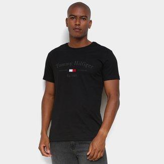 Camiseta Tommy Hilfiger Logo 1985 Masculina