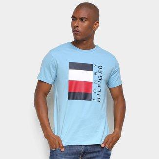 Camiseta Tommy Hilfiger Logo Masculina