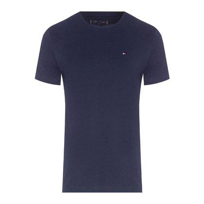 Camiseta Tommy Hilfiger Masculina Essential Cotton Tee Marinho