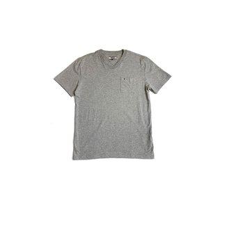 Camiseta Tommy Jeans Classics V Neck Cinza Tam. P