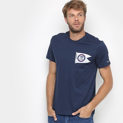 Camiseta Tommy Jeans Flag Masculina