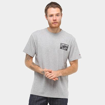Camiseta Tommy Jeans Manga Curta Masculina