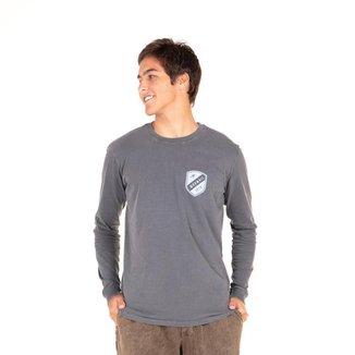 Camiseta Top Team Long Sleevet' Mormaii Masculina