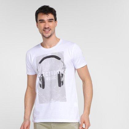 Camiseta Tribo Santa Eletronic Music Masculina